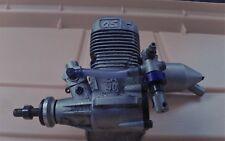 OS MAX LA 40 MODEL ENGINE & MUFFLER *Great Compression * Circa 1997