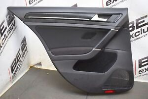 Original VW Golf 7 VII 5G GTE Türverkleidung Türpappe hinten links 5G4867211