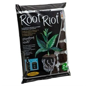 Root Riot Starter Cubes Propagation 24 Tray - Cuttings and Seedlings