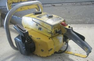 """VINTAGE COLLECTIBLE MCCULLOCH PRO MAC 700 CHAINSAW WITH 24"""" BAR"""