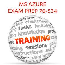 MS AZURE EXAM PREP 70-534 Part 2 - Video Training Tutorial DVD