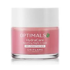 ORIFLAME OPTIMALS HYDRACARE SOOTHING NIGHT CREAM DRY SENSITIVE SKIN face body