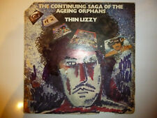 "Thin Lizzy ‎– 'Continuing Saga Of The Ageing Orphans' 12"" vinyl LP. EX+/POOR"