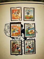 Walt disney stamps x 6Bhutan Unmounted Mint