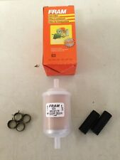 "Fram G3 3/8 "" Plastic Gas/Fuel Filter fits F20118 33003 3003 BF836 GF69PL FG8"