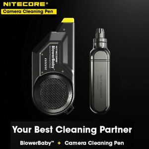 Nitecore BlowerBaby Electronic Clean Air Blower Pen Filter for Camera and Lens