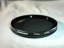 Quantaray 77mm C-P.L. Filter , CPL Circular Polarizing Polarizer