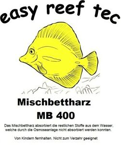 Mischbettharz MB 400, Meerwasser 1Liter (1000ml)