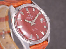 Silvana reloj hombre eta 2472 automático esfera roja raras