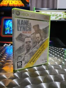 Kane & Lynch Dead Men - Xbox 360 Game - PROMOTIONAL COPY - Complete With Manual