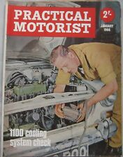 Practical Motorist Magazine January 1966 featuring Ford Corsair road test