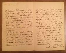 Lettera della Casa di Sua Altezza Reale Il Conte di Torino