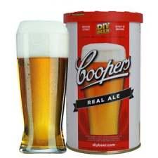 Coopers Home Brew Beer Kit Recharge ingrédients rend 40 PT-Real Ale