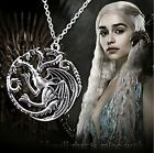 Game of Thrones Halskette Targaryen Drache Wappen Fire and Ice CS
