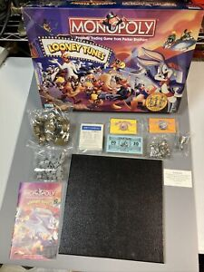 Monopoly Looney Tunes Limited Collectors Edition Pewter most Factory Sealed
