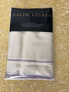 Ralph Lauren Alessandra Marden Euro Sham Linen Cotton Cream Lilac 3 available