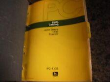 John Deere Parts Catalog Ipl Parts List:1530 Tractor Tractor,Pc 4133