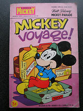 LE JOURNAL DE MICKEY NUMERO SPECIAL HORS SERIE N° 1407 BIS 1979  PARADE