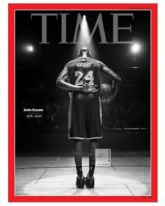 "Kobe Bryant 8""x 10"" Commemorative Time Magazine COVER Color PHOTO REPRINT"
