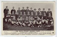 THE SOUTH AFRICAN FOOTBALL TEAM: Rugby postcard (C31487)