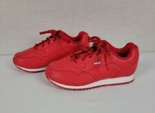 New listing Fila Sneakers Boys Kids Size 3 Red Tennis Shoes 3KM00120-611