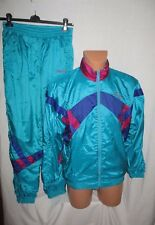 Vintage 80/90's Adidas men's lined soft shell full tracksuit size D3 great cond