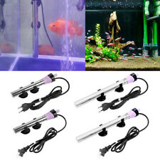 Fish Tank Submersible Water Heater Stainless Steel Temperature Control Aquarium