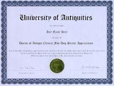 Doctor Goat Appreciation Novelty Diploma Gag Gift Joke