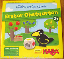 Ab 2 Jahre Haba Spiel Erster Obstgarten 4655 Meine ersten Spiele f. 1-4 Spieler
