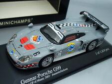 """1/43 Minichamps GUNNAR - PORSCHE G99 #6 """"SHARK"""" NEXTEL GP OF MIAMI 2003"""