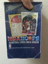 1990-91 BASKETBALL NBA HOOPS SEALED BOX Mark Jackson Menendez Brothers JORDAN