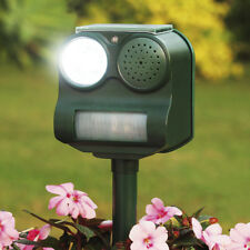 REFURBISHED Solar Garden Pest Repeller