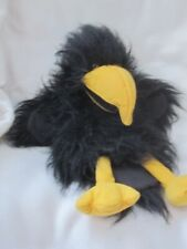 PUPPET COMPANY CROW ROOK RAVEN HAND ARM GLOVE PUPPET SOFT TOY