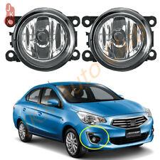 Fog Lamps Bumper Lights For Mitsubishi Attrage Mirage G4 Sedan 2012-2019- 2020