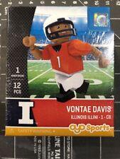 Oyo Sports Minifigure Vontae Davis Illinois Fighting Illini Lego Football Bills
