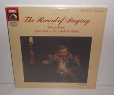 EX 7697411  The Record Of Singing Volume 4 New Sealed 8LP Box Set