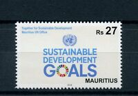 Mauritius 2016 MNH United Nations UN Sustainable Development Goals 1v Set Stamps