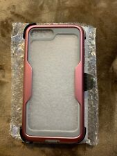 i-BLASON magma full body holster -  iPhone 7/8 plus -clear with rose gold and gr