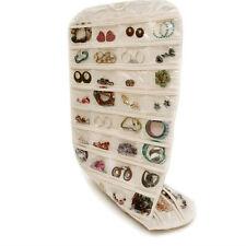Ring Necklace Bracelet Organizer Holder Hanging Storage Pocket Pouch Holder