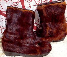 Vintage Diadora St. Moritz Fur Boots Made in Italy