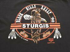 New listing 1998 Vintage Xl Sturgis Biker Rally Pocket T-Shirt Single Stitch 2-Sided 1990s