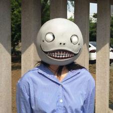8f790ee0d3d Game NieR Automata Mask Emil Masks Latex Helmet 2B Halloween Cosplay Horror  Prop