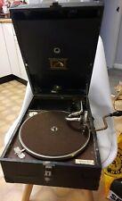 Vintage Model HMV 101 Gramophone His Masters Voice 1930's