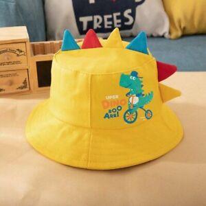 Cartoon Dinosaur Baby Hat Spring Summer Kids Girl Boy Sun Hat Outdoor Infant Cap