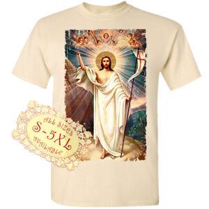 Jesus Christ V142 Catolic Christian Church Print DTG T SHIRT All sizes S-5XL