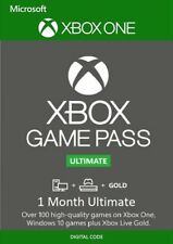 Game Pass Ultimate + Xbox Live GOLD Key - 1 Month Code - Xbox One - *INSTANT*