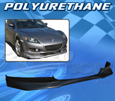 FOR 04-08 MAZDA RX-8 T-RA POLY URETHANE PU FRONT BUMPER LIP SPOILER BODY KIT