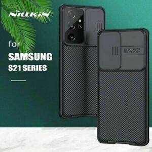 For Samsung Galaxy S20 FE S21 Ultra Plus Nillkin CamShield Case Shockproof Cover