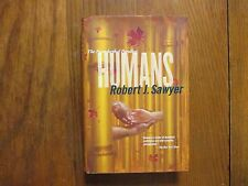 ROBERT J. SAWYER Signed Book(HUMANS-Book 2 Neanderthal Parallax-2003 1st Ed Hard