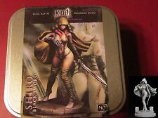 Nocturna MT13 70mm Malefic Time Shiro Black Sword Female Warrior Rogue Hero Royo